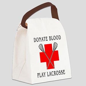 lacrosse4light Canvas Lunch Bag