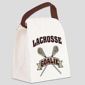 lacrosse74light Canvas Lunch Bag