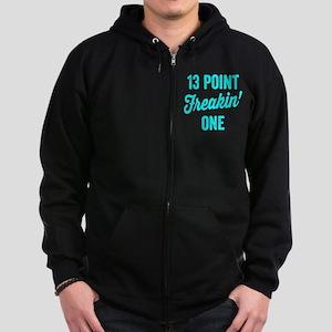 Thirteen Point Freakin One. 13.1. Half-Marathon. Z