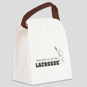 lacrosse108light Canvas Lunch Bag