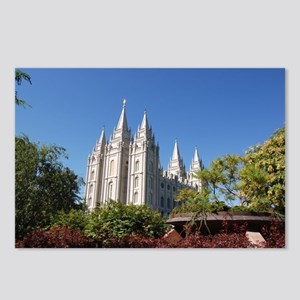 Salt Lake Temple, Plaza View Postcards (Package of