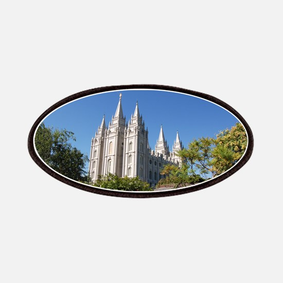 Salt Lake Temple, Plaza View Patches