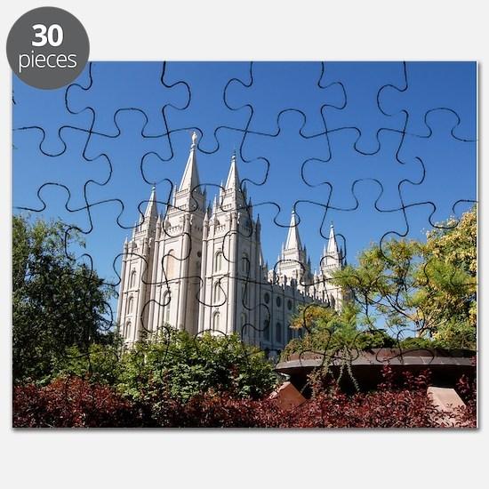 Salt Lake Temple, Plaza View Puzzle