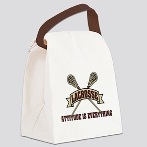 lacrosse83light Canvas Lunch Bag