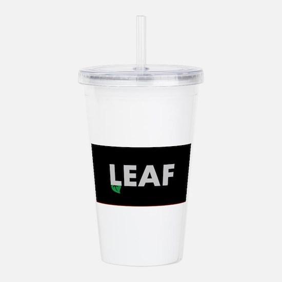 Leaf Acrylic Double-wall Tumbler