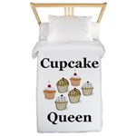 Cupcake Queen Twin Duvet
