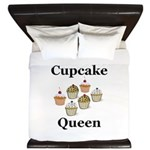 Cupcake Queen King Duvet