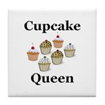 Cupcake Queen Tile Coaster