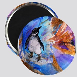 Penguin, wildlife art, Magnets