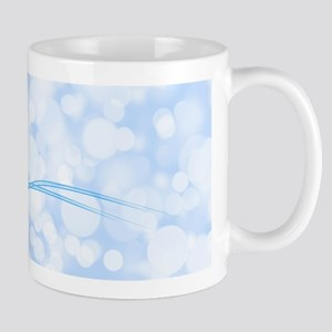 Blue Snowflake Mugs