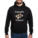 Cupcake Wizard Hoodie (dark)