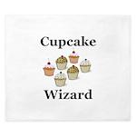 Cupcake Wizard King Duvet
