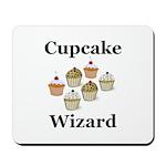 Cupcake Wizard Mousepad