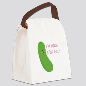 A Big Dill Canvas Lunch Bag