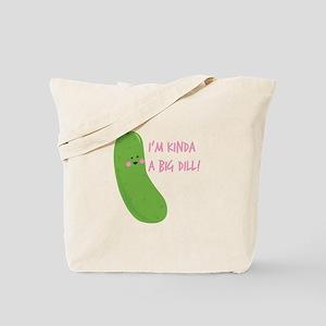 A Big Dill Tote Bag