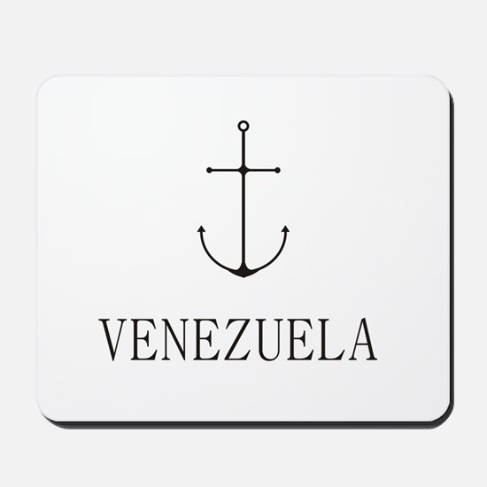 Venezuela Sailing Anchor Mousepad