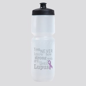 You Never know,Lupus Sports Bottle