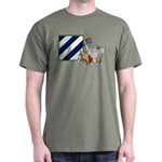Rocky and the Patch  Dark T-Shirt