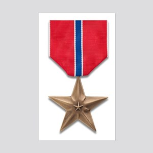 Bronze Star Sticker