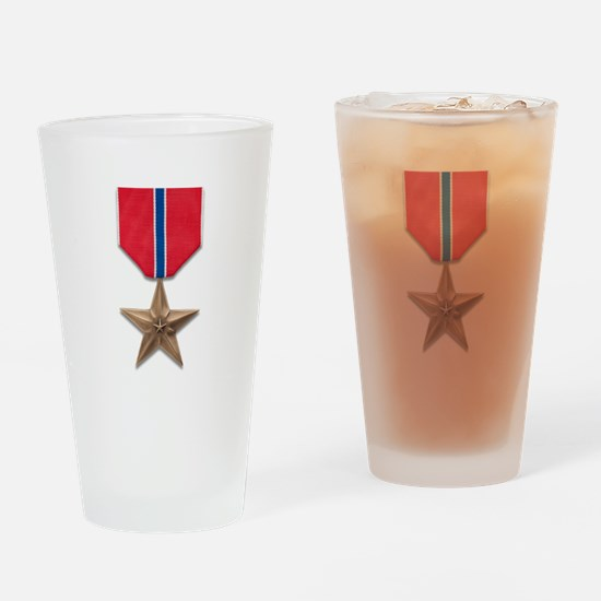 Bronze Star Drinking Glass