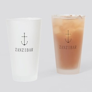 Zanzibar Sailing Anchor Drinking Glass