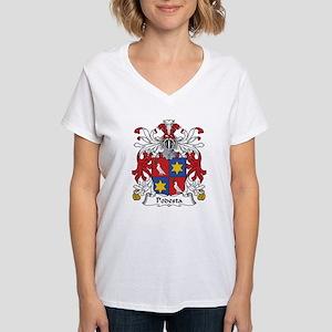 Podesta Women's V-Neck T-Shirt