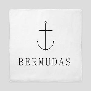 Bermudas Sailing Anchor Queen Duvet