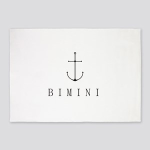 Bimini Bahamas Sailing Anchor 5'x7'Area Rug