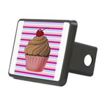 Pink and Teal Cupcake Hitch Cover