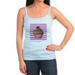 Pink and Teal Cupcake Tank Top