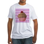 Pink and Teal Cupcake T-Shirt