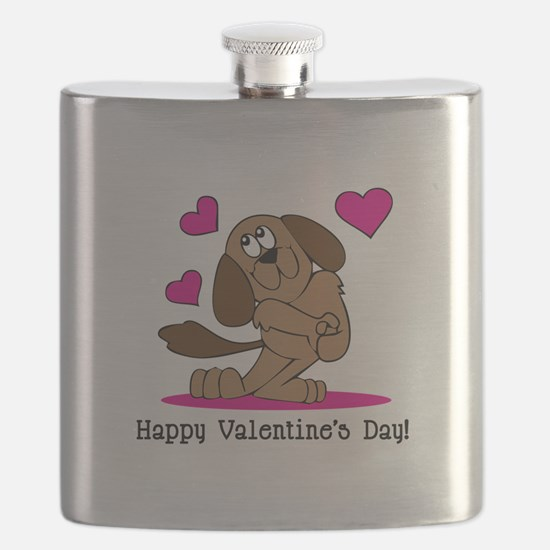 Happy Valentines Flask