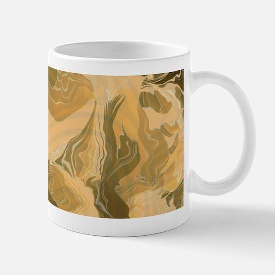 Swirling Desert Camo Mugs