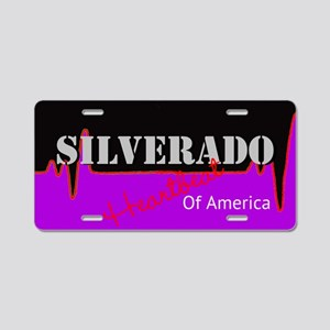 Silverado Aluminum License Plate