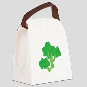 Broccoli Canvas Lunch Bag
