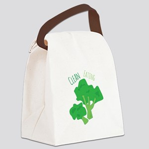 Clean Eating Canvas Lunch Bag