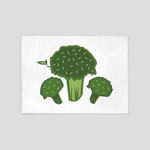 Broccoli Bunch 5'x7'Area Rug