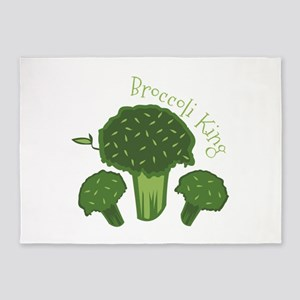 Broccoli King 5'x7'Area Rug
