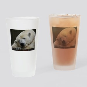Polar bear 011 Drinking Glass