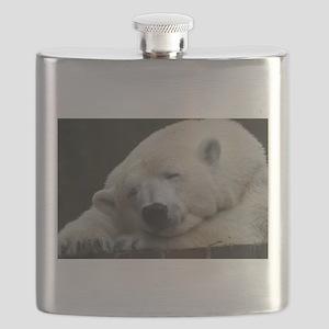 Polar bear 011 Flask