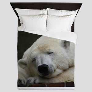 Polar bear 011 Queen Duvet