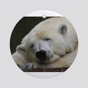 Polar bear 011 Ornament (Round)