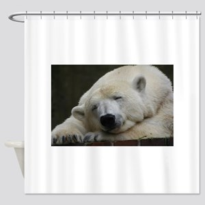 Polar bear 011 Shower Curtain