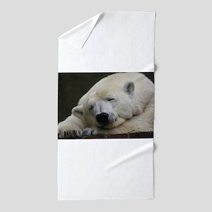 Polar bear 011 Beach Towel