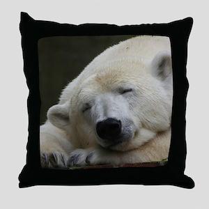 Polar bear 011 Throw Pillow