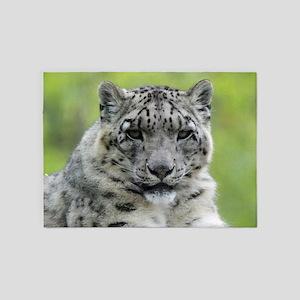 Leopard010 5'x7'Area Rug