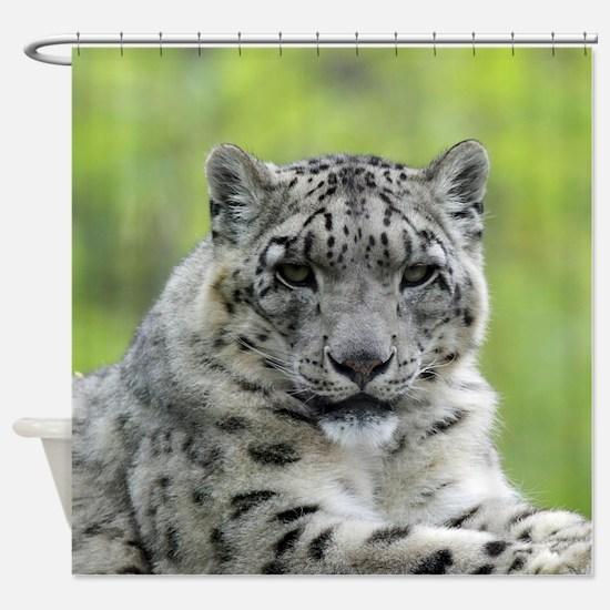 Leopard010 Shower Curtain