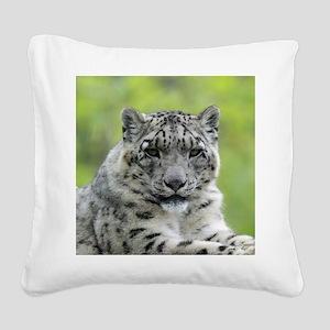 Leopard010 Square Canvas Pillow