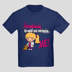 Future Veterinarian Kids Dark T-Shirt