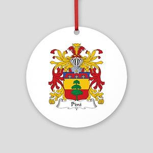Pini Ornament (Round)